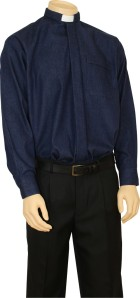 Denim Clerical Shirt